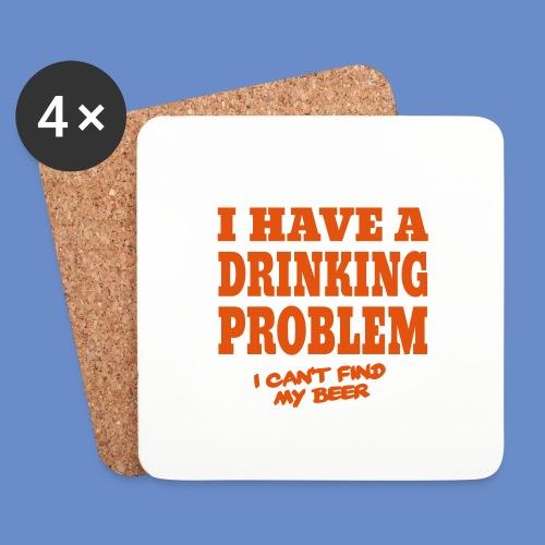 Drinking Problem Placemat - Underlägg (4-pack)