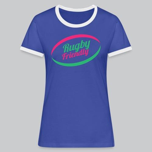 Rugby Friendly Classic - T-shirt contrasté Femme