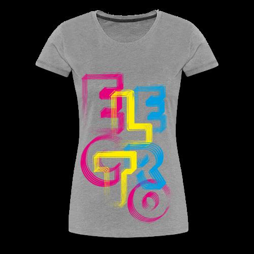 Elektro - Frauen Premium T-Shirt