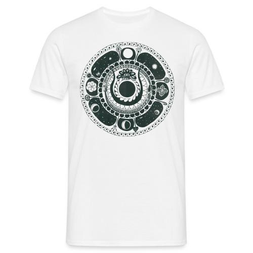 Weltenschlange - Men's T-Shirt