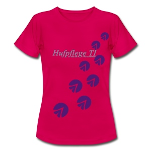 T-Shirt Hufe - Frauen T-Shirt