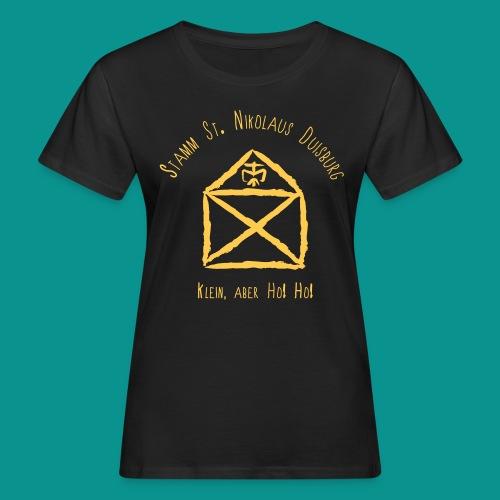 Logo vorne T-Shirt Damen Leiter - Frauen Bio-T-Shirt