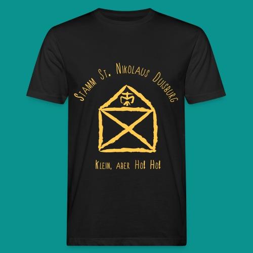 Logo vorne T-Shirt Herren Leiter - Männer Bio-T-Shirt