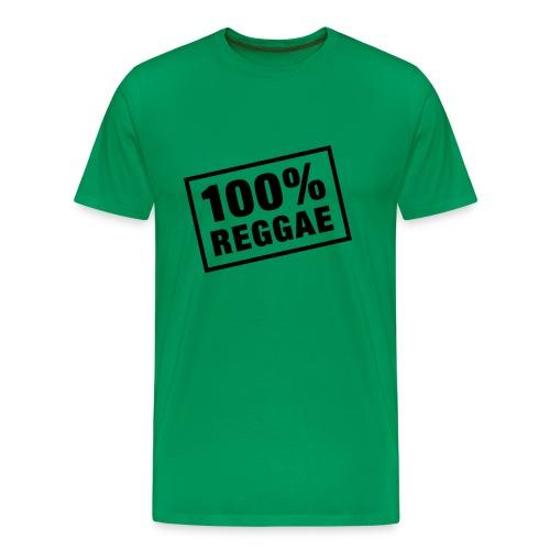 Tee Shirt Homme Premium 100% Reggae - T-shirt Premium Homme