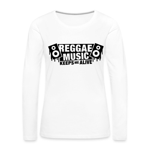 Tee Shirt Femme Premium Manches longues Keeps Me - T-shirt manches longues Premium Femme