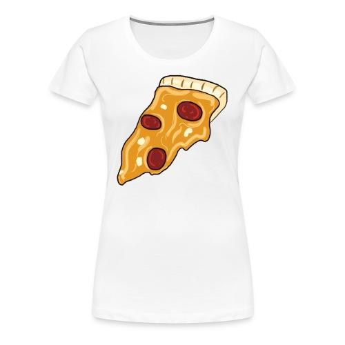 Womens Classy Peppy Pizza - Women's Premium T-Shirt