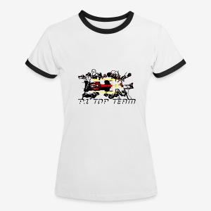 T-shirt P1 Top Team by DESIGNMOTEUR team - F - T-shirt contraste Femme