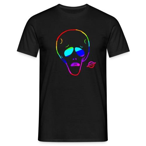 Alien RAINBOW T-Shirts - Men's T-Shirt