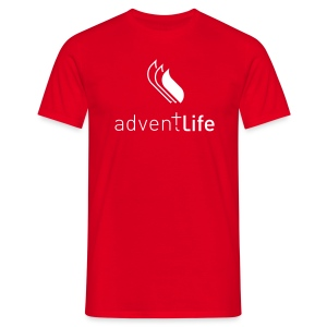 Tshirt Rouge HOMME Adventlife - T-shirt Homme
