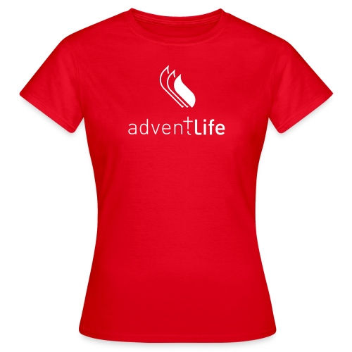 Tshirt Rouge FEMME Adventlife - T-shirt Femme
