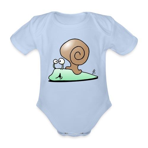 Etana Vauvan bodi - Organic Short-sleeved Baby Bodysuit