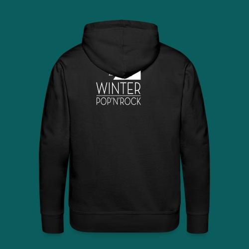 Sweatshirt Winter Noir - Sweat-shirt à capuche Premium pour hommes