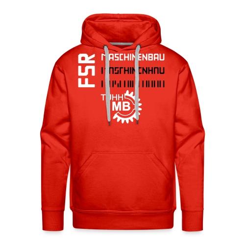 Hoodie Herren, rot, Maschinenbau - FSR - Männer Premium Hoodie