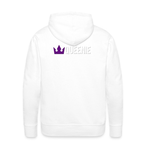 Queenie White Men's Hoodie  - Men's Premium Hoodie