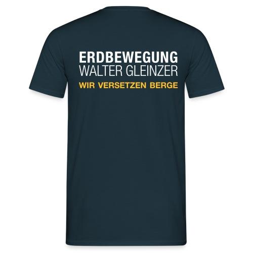 T-Shirt Rundhals | Navyblau - Männer T-Shirt
