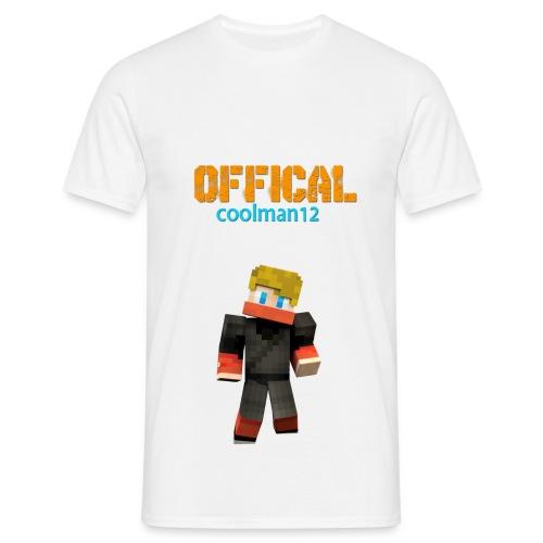 Coolman12 T-Shirt/M - Männer T-Shirt