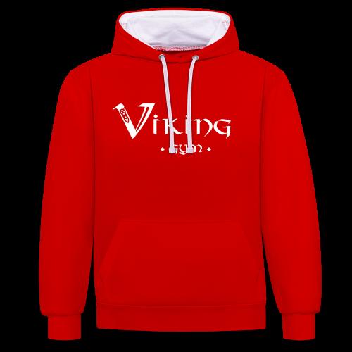 Viking Gym Hoodie - Kontrast-Hoodie