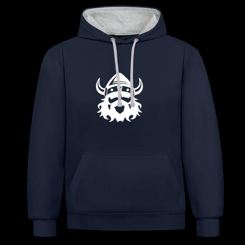 Head Viking Hoodie - Kontrast-Hoodie
