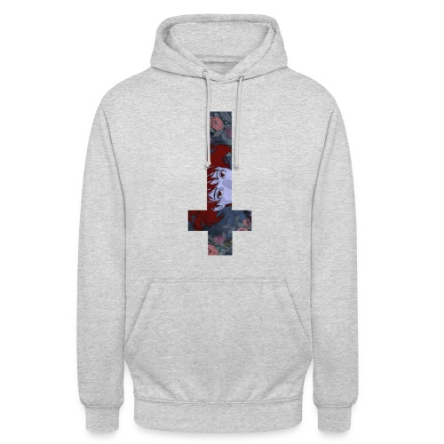 Redempt_ Hoodie : Blossom Cross - Sweat-shirt à capuche unisexe