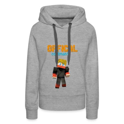 Coolman12 Pullover/W - Frauen Premium Hoodie