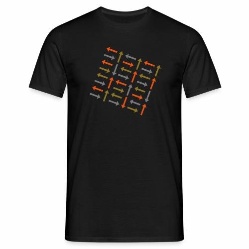 Pfeile dreifarbig - Männer T-Shirt