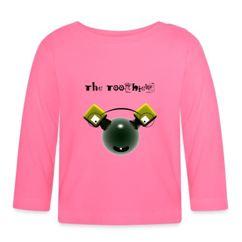 Tee Shirt bébé Toothies Green - T-shirt manches longues Bébé