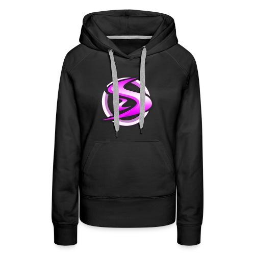Official StormSense Women's Limited Edition Pink Logo Hoodie - Women's Premium Hoodie