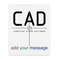 Other ~ Mouse Pad (vertical) ~ CAD-designer