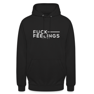 F*CK FEELINGS - Sweat-shirt à capuche unisexe