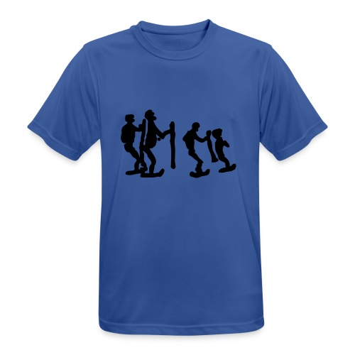 Tekninen Ukot-paita - miesten tekninen t-paita