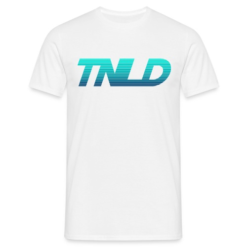 TNLD - Blue Gradient New Logo - Men's T-Shirt