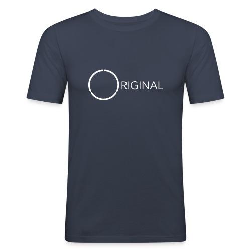 Original 12-ring Mens tee slim - Men's Slim Fit T-Shirt