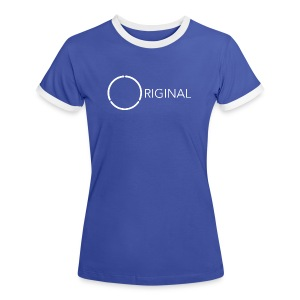 Original 12-ring Ladies trim tee 1 - Women's Ringer T-Shirt