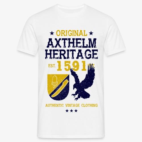Axthelm Retro Design - Männer Shirt - Männer T-Shirt