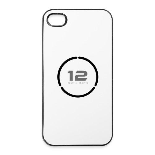 12 Dated Number Ring Phone Case - iPhone 4/4s Hard Case