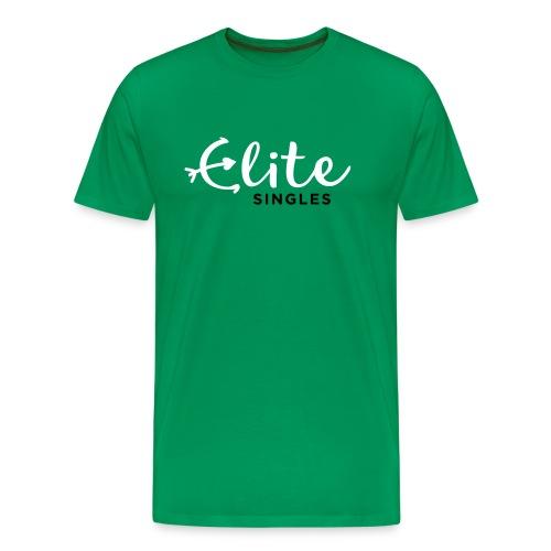 EliteSingles Green T-Shirt - Männer Premium T-Shirt