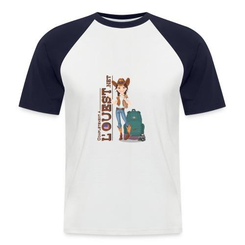 Tshirt Homme Baseball - T-shirt baseball manches courtes Homme