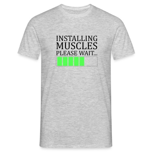 Tee shirt homme Installing Muscles - T-shirt Homme