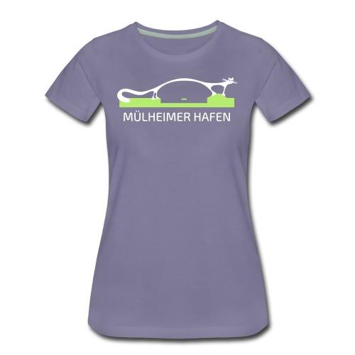 Mülheimer Hafenkatze - Frauen Premium T-Shirt