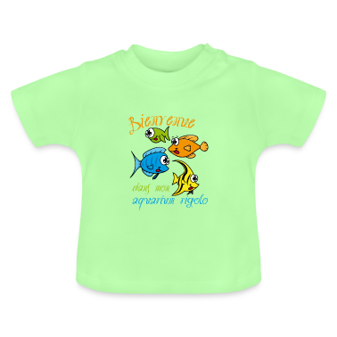 tee shirt aquarium poissons rigolos tee shirts b b s spreadshirt. Black Bedroom Furniture Sets. Home Design Ideas