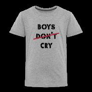 T-Shirts ~ Kinder Premium T-Shirt ~ shirt boys cry