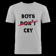 T-Shirts ~ Männer Slim Fit T-Shirt ~ shirt boys cry