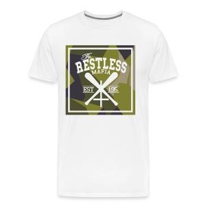 The Restless Mafia Triple Cross tee - Men's Premium T-Shirt