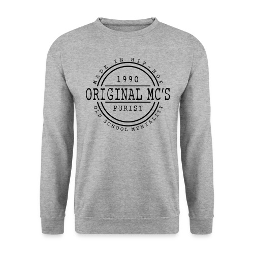 Original MC's 1990 Gris - Sweat-shirt Homme