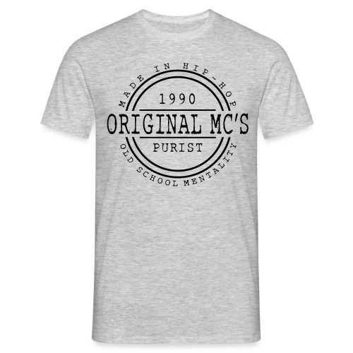 Original MC's 1990 Gris - T-shirt Homme