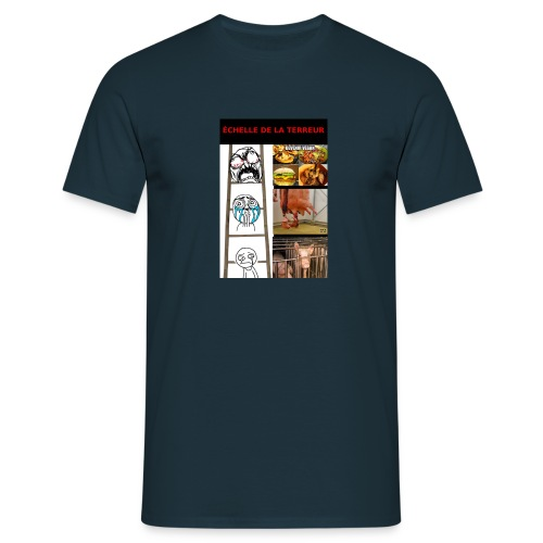 T-shirt échelle de la terreur - T-shirt Homme