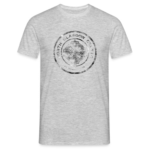 Crest Tee Grey - Men's T-Shirt