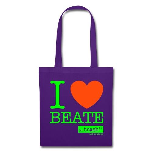 I Love Beate - Stoffbeutel