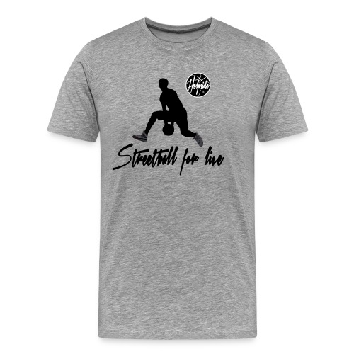 Helpside Streetball for live Shirt - Männer Premium T-Shirt