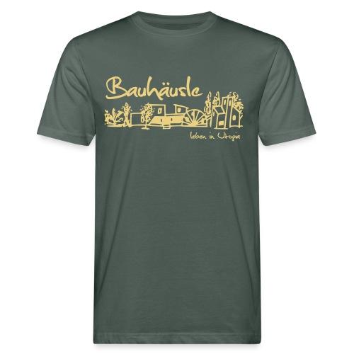 Männer Bio T-Shirt guggsch grad Leben in Utopia - Männer Bio-T-Shirt